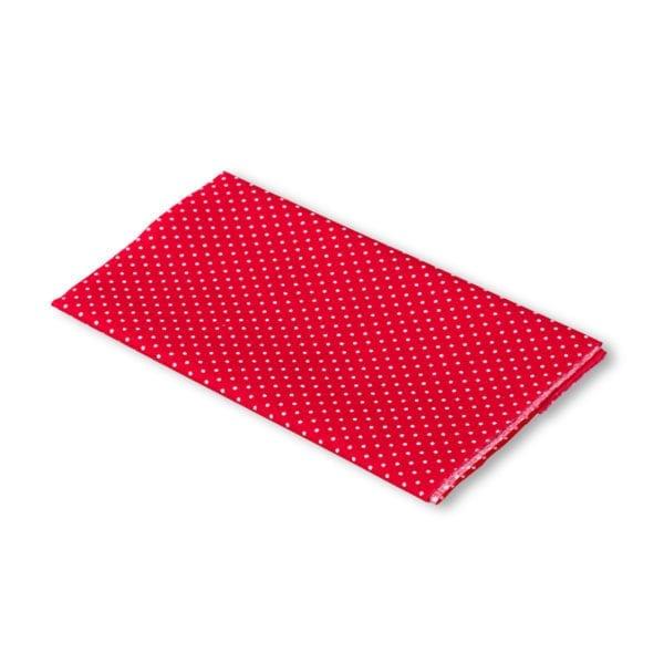 Röd Vit prickig laglapp