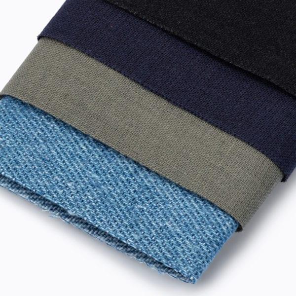 Laglappar i olika färger