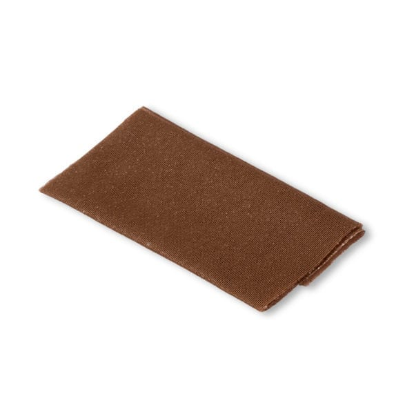 Brun laglapp för slitna kläder