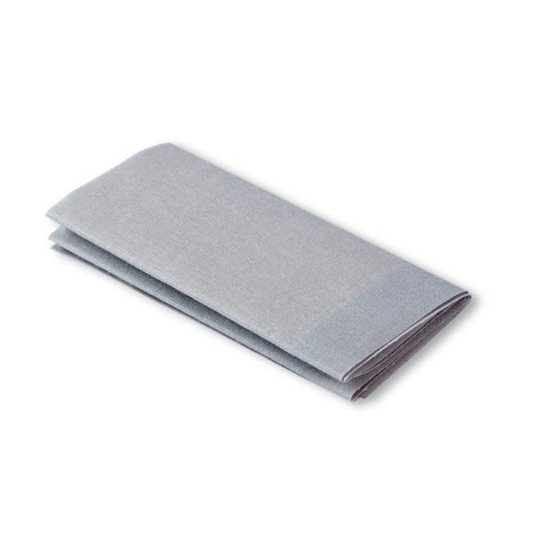 Ljusgrå laglapp för kläder med hål