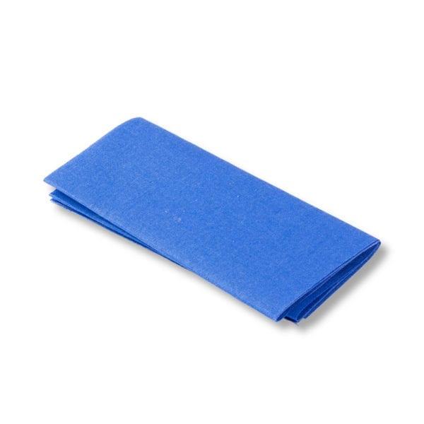 Blå påstrykbar laglapp