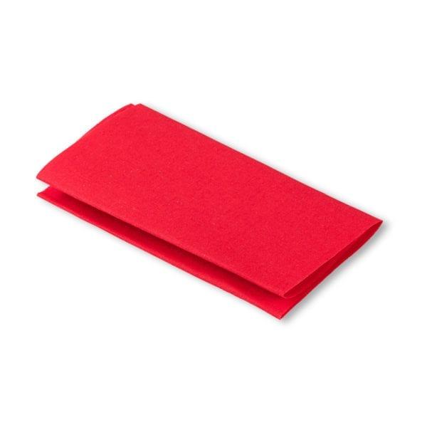 Påstrykbar röd laglapp