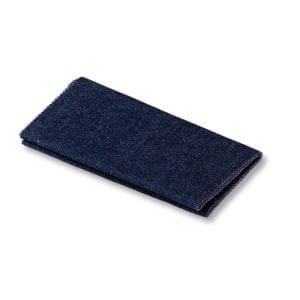 Mörkblå Laglapp Jeans