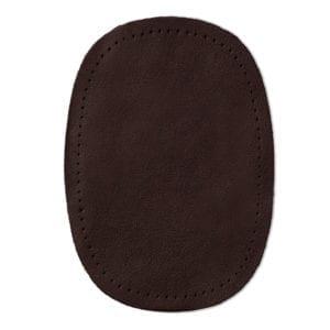 Mörkbrun laglapp nappaläder