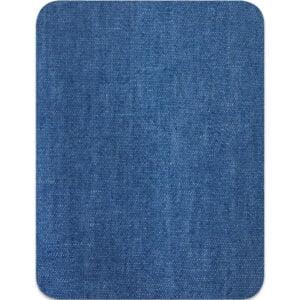 Lagningslapp jeans - stryka på mellanblå
