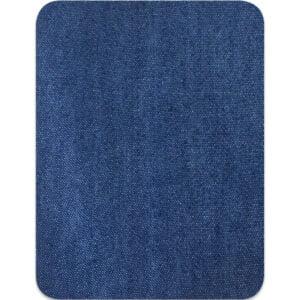 Lagningslapp jeans - stryka på jeansblå