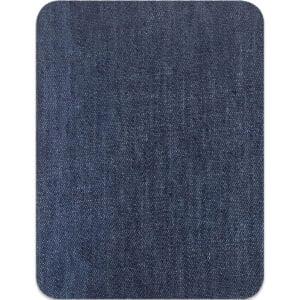 Lagningslapp jeans - stryka på mörkblå