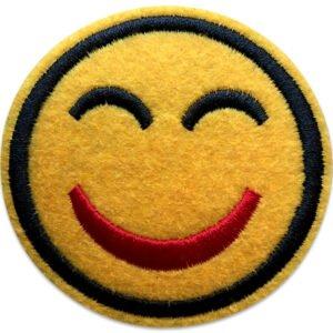Smiley Tygmärke