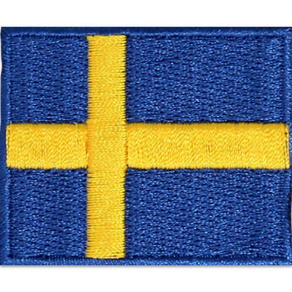 Tygmärke - Sverige flagga