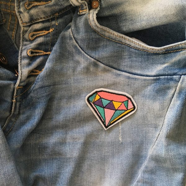 Diamant - Applikation - Strya på