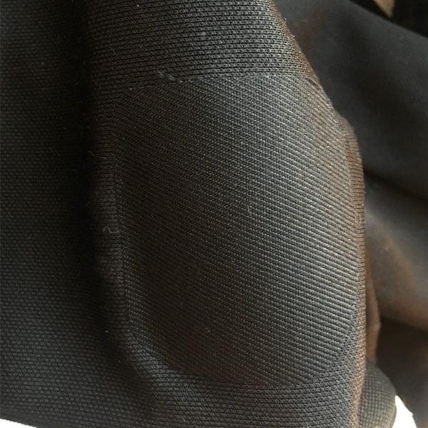 Svart polyester laglapp från Laglappen