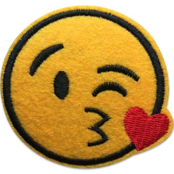 Emoji Puss   Tygmärke