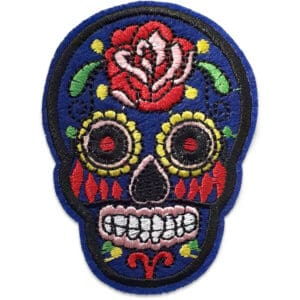 Tygmärke Mexikansk Dödskalle