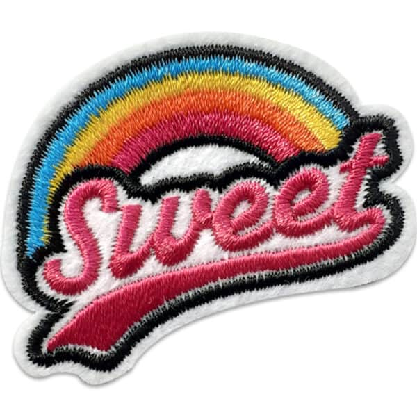 Tygmärke Sweet - Regnbåge