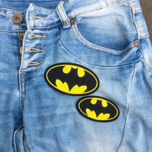 Tygmärke batman två storlekar på jeans