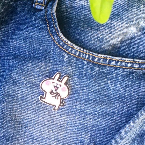 Bunny Rabbit skuttar jeans - tygmärke