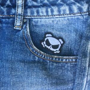 Cool Skate Skalle jeans - Tygmärke