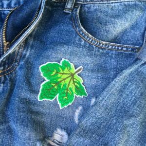 löv högsommar jeans - tygmärke