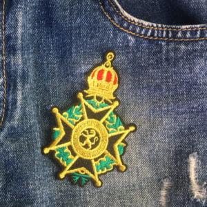 sigill - medalj - krona - tygmärke