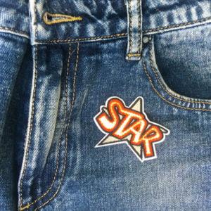 STAR jeans - tygmärke