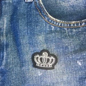 tre kronor silver jeans - tygmärke