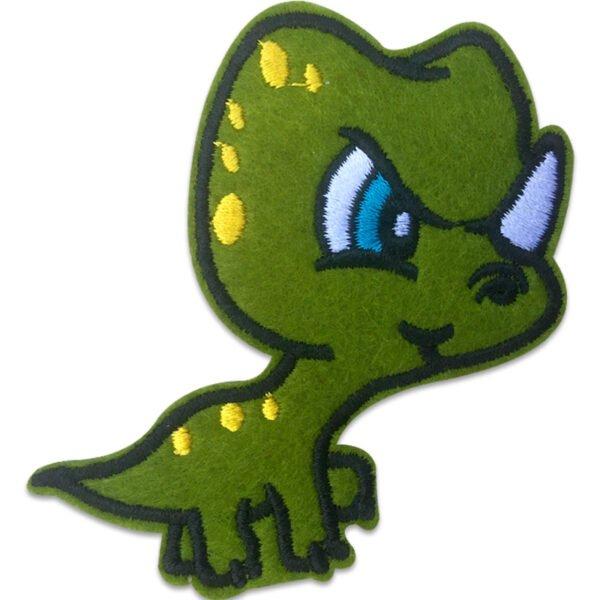 Dinosaurie med horn - Tygmärke