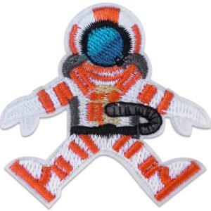 Dykare Orange Flyter - Tygmärke - Patches