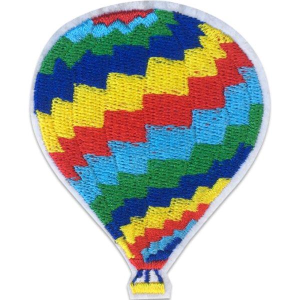 Färgglad luftballong - Applikation - Patch - Tygmärke