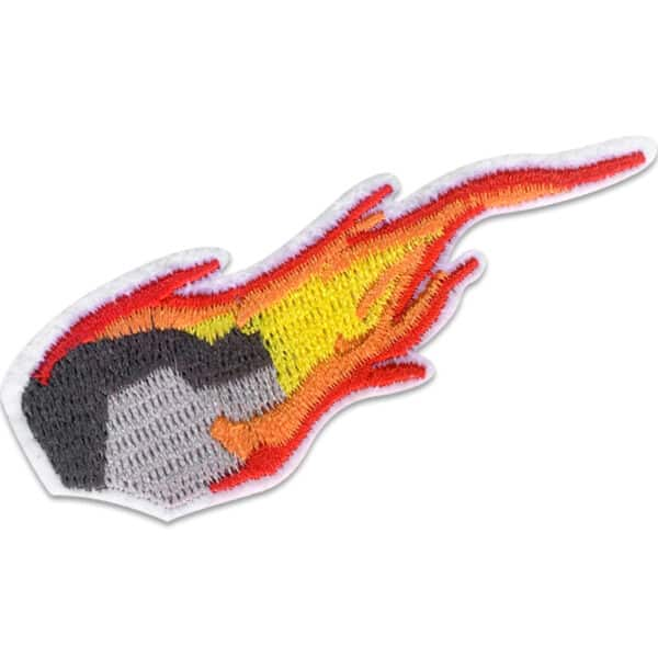 Flammande meteor - patch