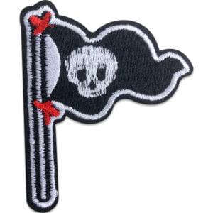 Piratflagga Jolly Roger - tygmärke