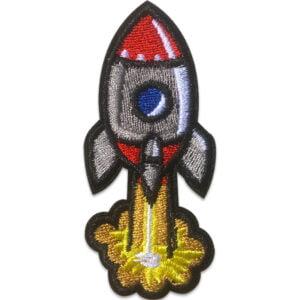 Raket Lyfter - Tygmärke