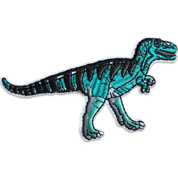 Tyrannosaurus Rex Blå - Tygmärke