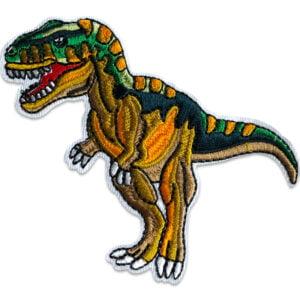 T-Rex på Jakt - tygmärke