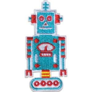 tygmärke - Turkos Robot