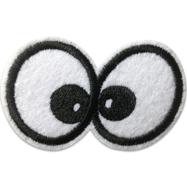 Nyfikna ögon - tygmärke
