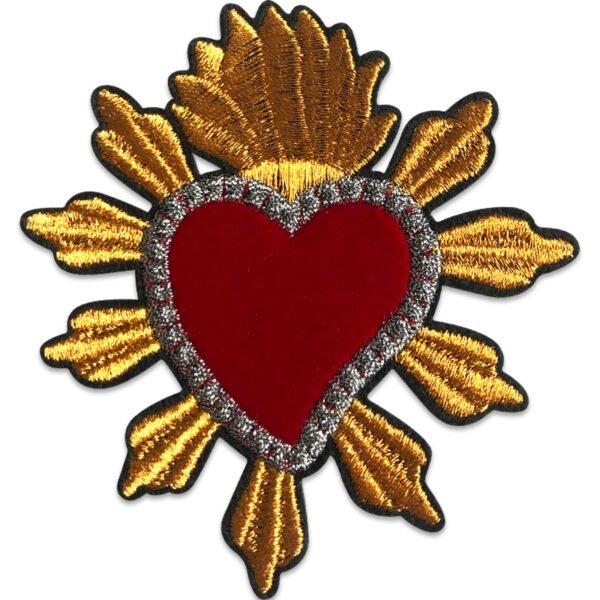 tygmärke kungligt hjärta