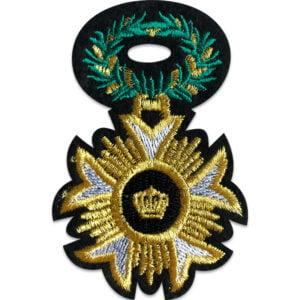 medalj tygmärke