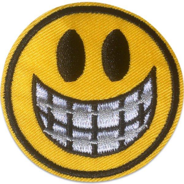 Smile Tandställning- Tygmärke - Broderat