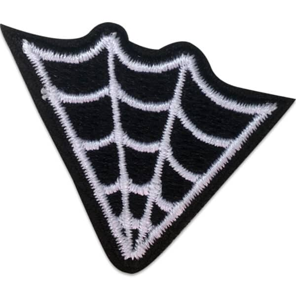 tygmärke - tufft spindelnät