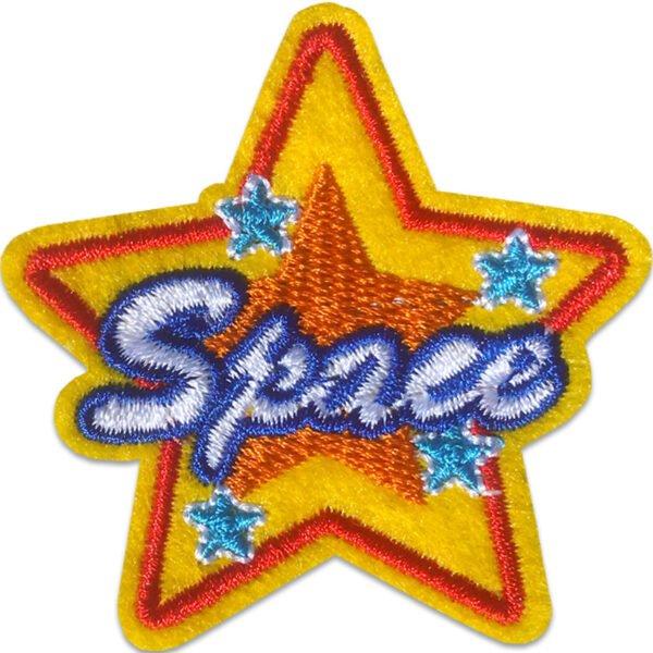 Space Stjärna - Tygmärke
