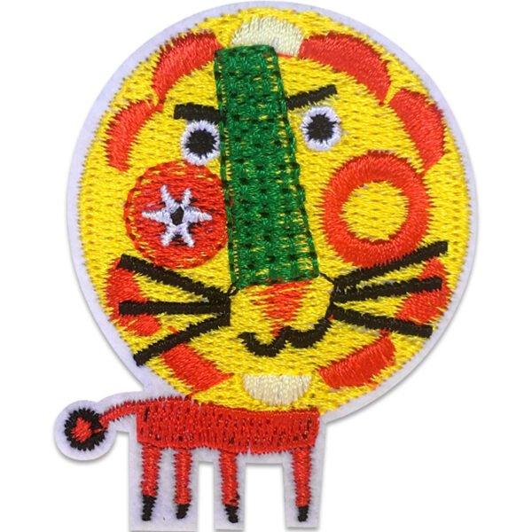 Lejonet Zoo Nostalgi - Tygmärke - Patch