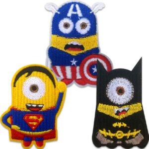 Minions superhjältar - tygmärken