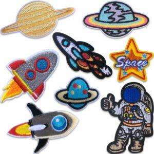 Rymdpaket 1 - Rymdmotiv - Raketer och Planeter