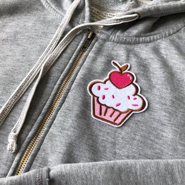 cupcake muffins - tygmärke tröja