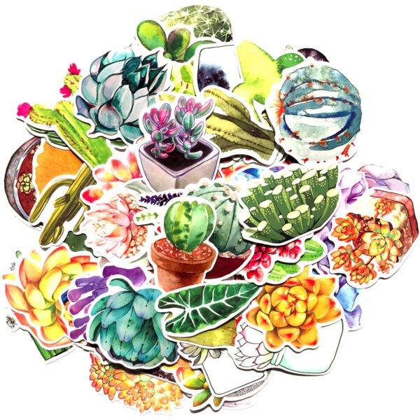 växter - klistermärken