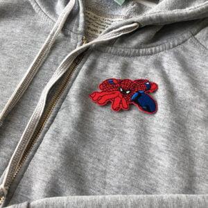 spindelmannen spiderman - tygmärke tröja