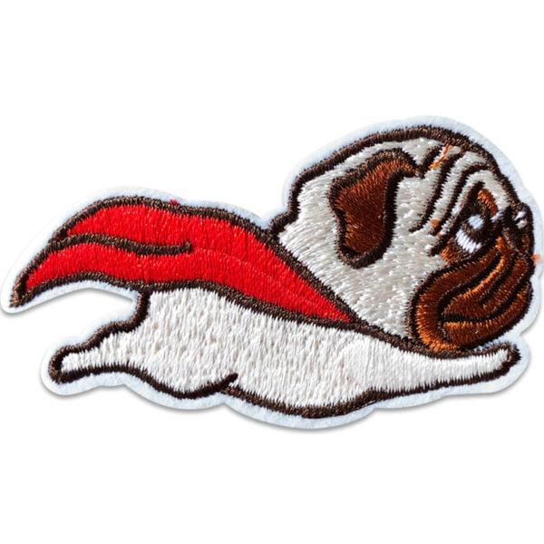 hund som flyger - strykbart tygmärke