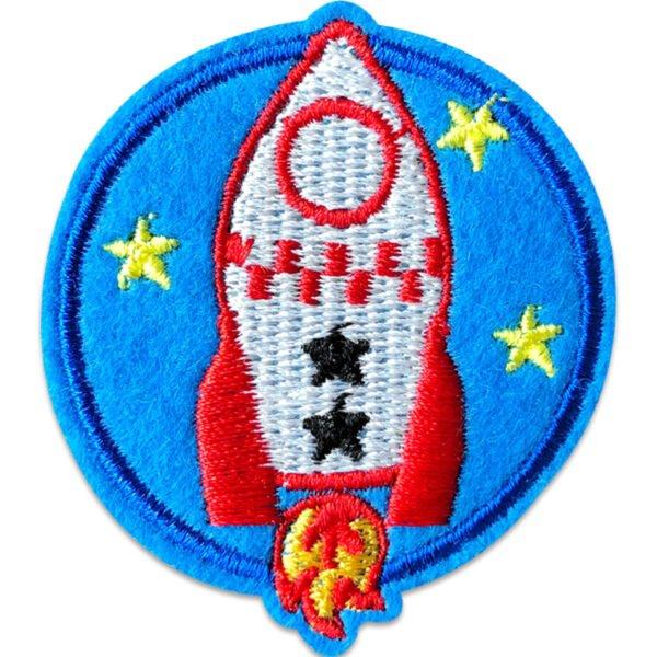 raket emblem - tygmärke