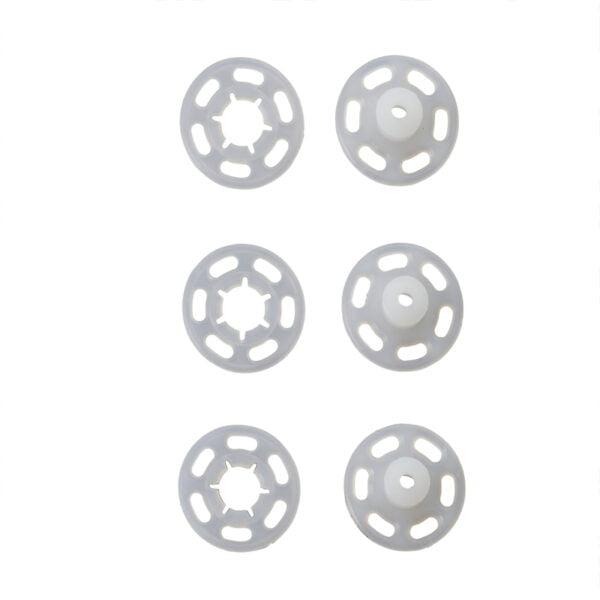 tryckknappar genomskinliga 7 mm - prym