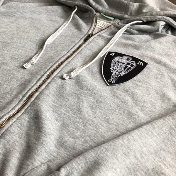änglasoldat emblem tröja - tygmärke